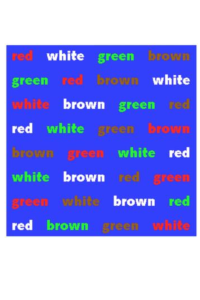word colours